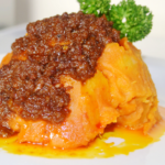 Asaro yam pottage and pepper stew
