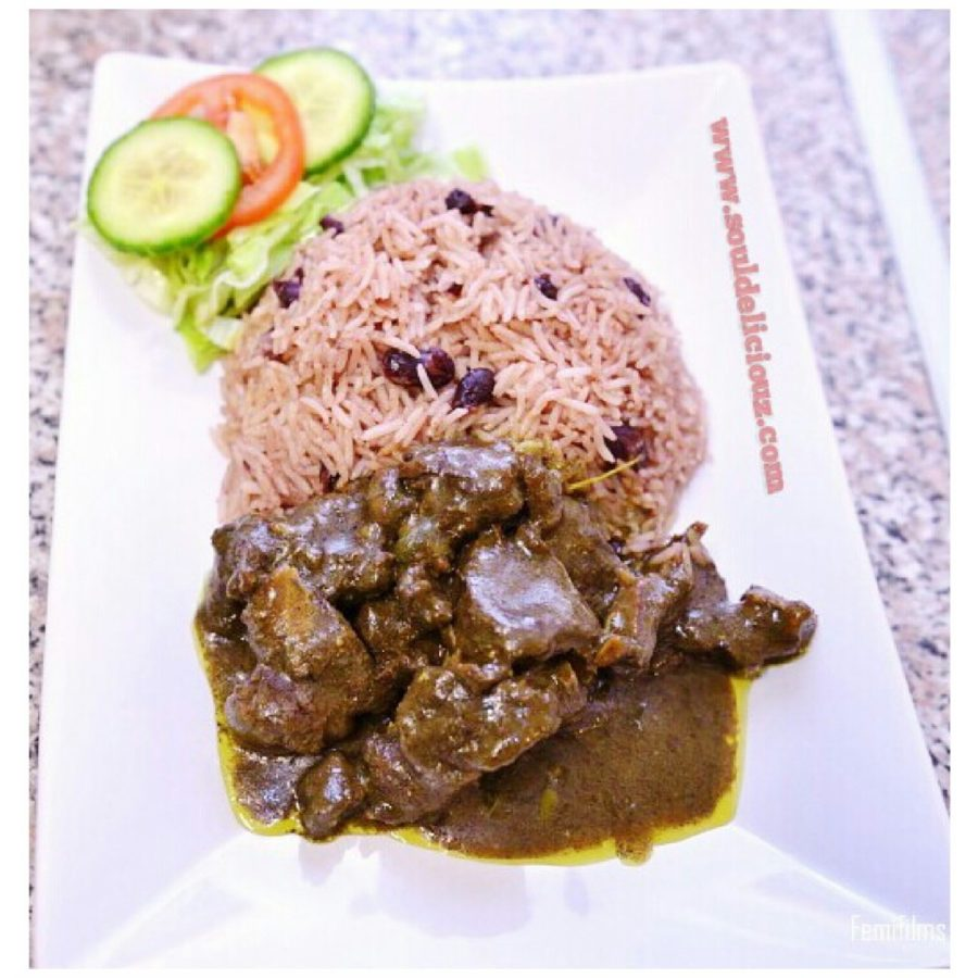 How to cook Curry Goat and Rice n Peas